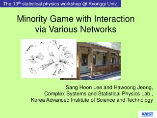 Minority Game with Interaction via Various Networks