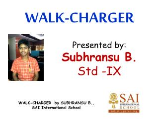 WALK-CHARGER