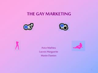 THE GAY MARKETING