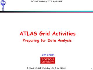 ATLAS Grid Activities Preparing for Data Analysis