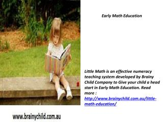Early Learning and Childhood Development Software