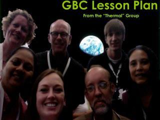 GBC Lesson Plan
