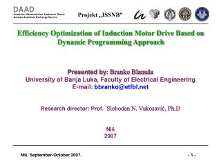 Efficiency Optimization of Induction Motor Drive Based on Dynamic Programming Approach