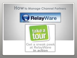 Relayware - Channel Management System