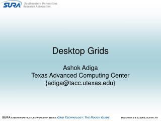 Desktop Grids