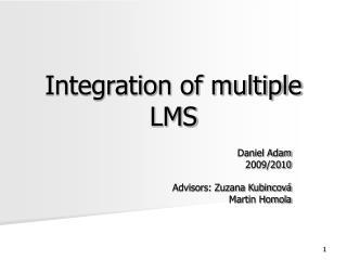 Integration of multiple LMS