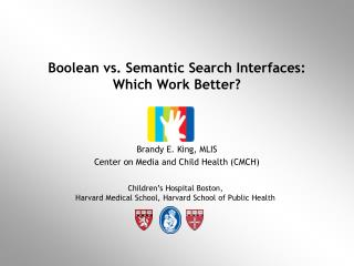Boolean vs. Semantic Search Interfaces: Which Work Better