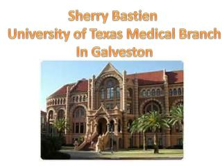 Sherry Bastien  University of Texas Medical Branch In Galveston