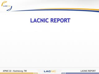 LACNIC REPORT