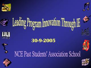 NCE Past Students' Association School