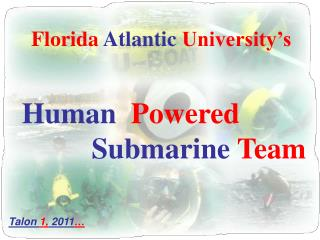 Florida  Atlantic  University�s