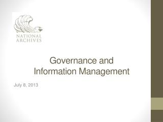 Governance and Information Management