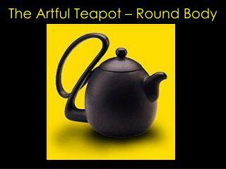 The Artful Teapot – Round Body