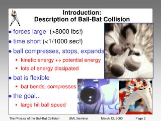 Introduction:   Description of Ball-Bat Collision