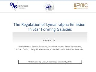 The Regulation of Lyman-alpha Emission  in Star Forming Galaxies