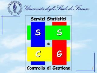 Servizi Statistici