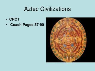 Aztec Civilizations