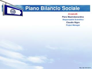 Piano Bilancio Sociale
