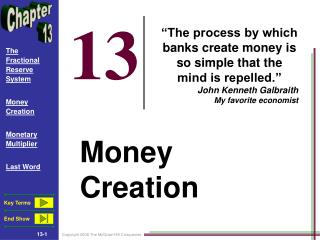 Money Creation