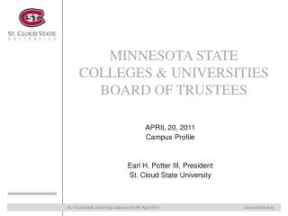 MINNESOTA STATE COLLEGES & UNIVERSITIES BOARD OF TRUSTEES