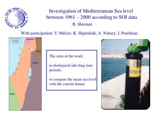 Investigation of Mediterranean Sea level  between 1961 – 2000 according to SOI data