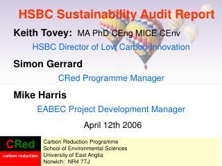 HSBC Sustainability Audit Report