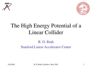 The High Energy Potential of a Linear Collider