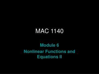 MAC 1140