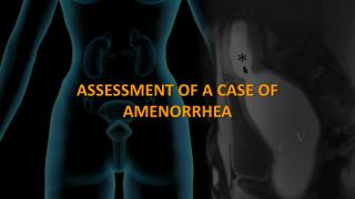 ASSESSMENT OF A CASE OF AMENORRHEA