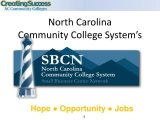 North Carolina  Community College System s