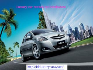 Luxury Car Rentals in Coimbatore