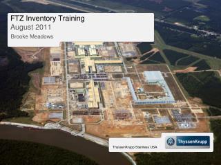 FTZ Inventory Training