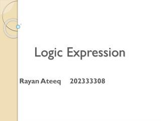 Logic Expression