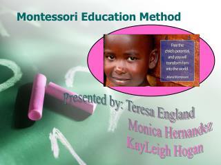 Montessori Education Method