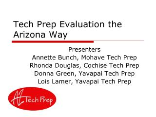 Tech Prep Evaluation the Arizona Way