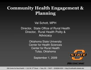 Community Health Engagement  Planning