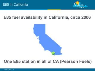 E85 in California