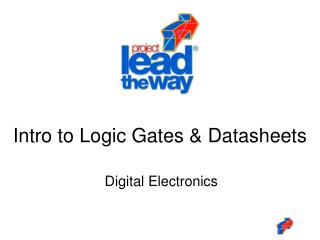 Intro to Logic Gates  Datasheets