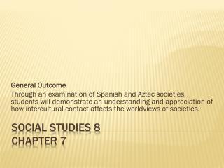 Social Studies 8 Chapter 7