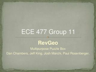 ECE 477 Group 11