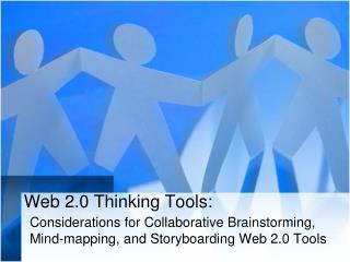 Web 2.0 Thinking Tools:
