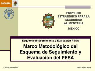 Esquema de Seguimiento y Evaluación PESA