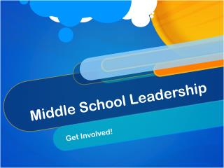 Middle School Leadership