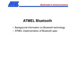ATMEL Bluetooth