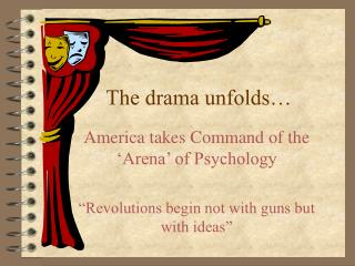 The drama unfolds…