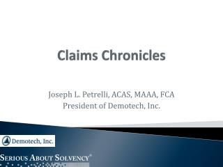Claims Chronicles