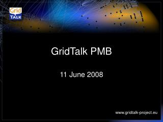 GridTalk PMB
