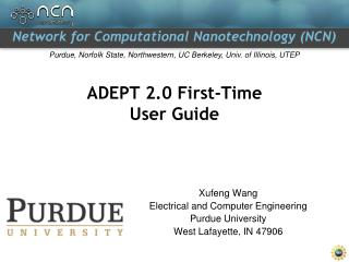 ADEPT 2.0 First-Time User Guide