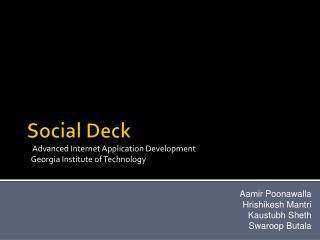 Social Deck