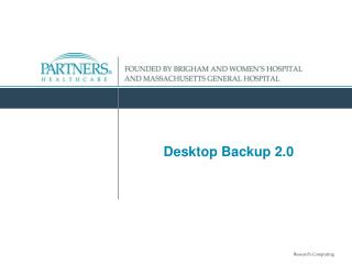 Desktop Backup 2.0